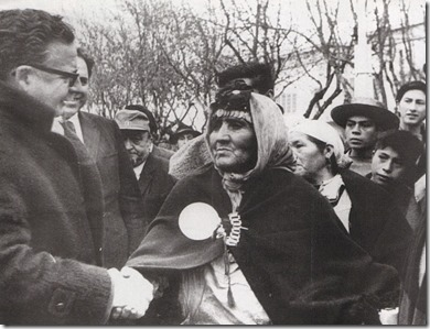 Allende y papai